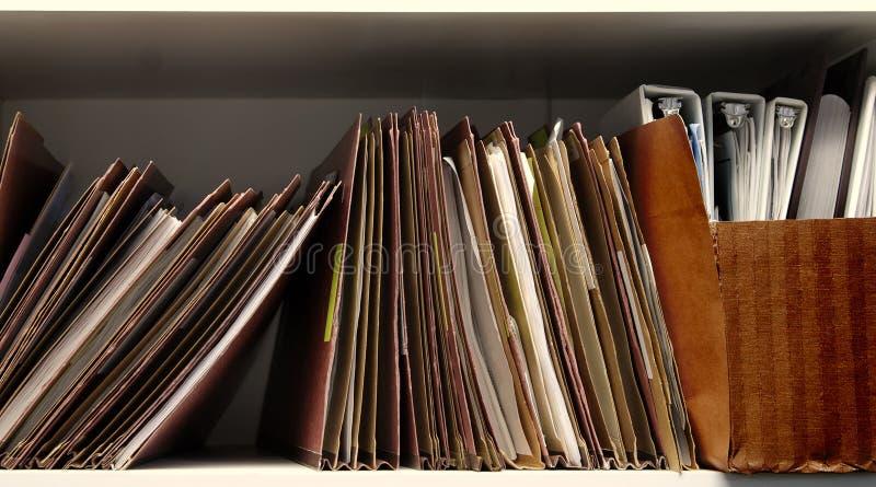 ράφι αρχείων στοκ φωτογραφίες