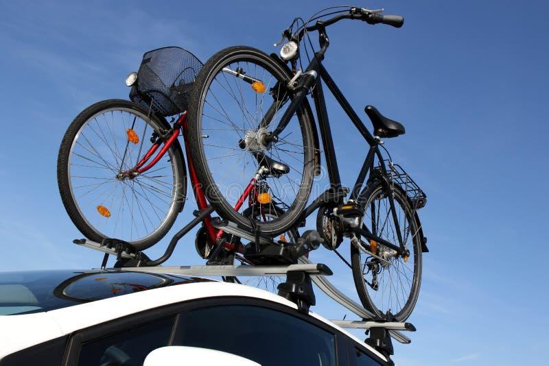 ράφι ποδηλάτων στοκ εικόνα