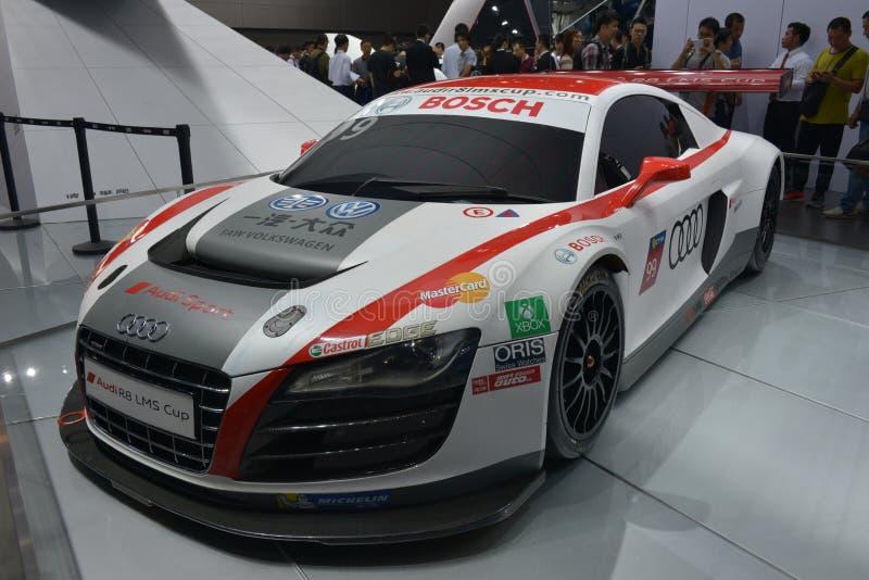Ράλι Audi R8 LMS στοκ εικόνες