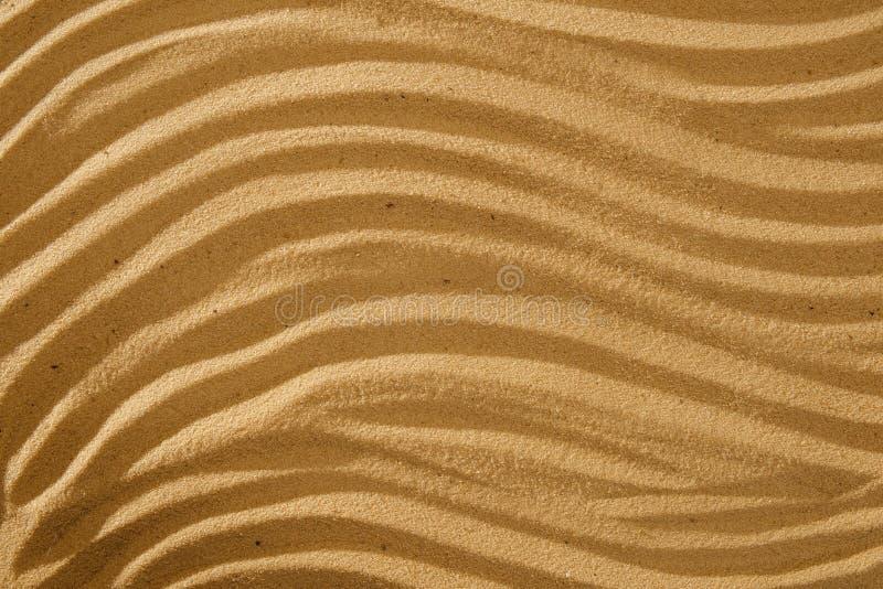 Ρέοντας άμμος σχεδίων κυμάτων τέχνης για το wellness και την ηρεμία με το διάστημα αντιγράφων στοκ φωτογραφίες με δικαίωμα ελεύθερης χρήσης