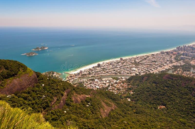 Ρίο ντε Τζανέιρο, Barra DA Tijuca στοκ φωτογραφία με δικαίωμα ελεύθερης χρήσης