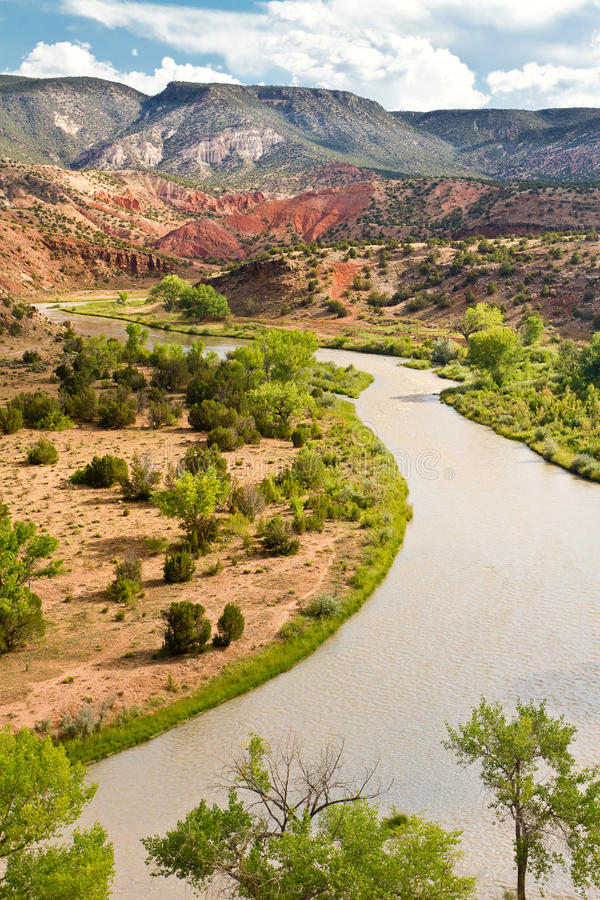Ρίο Chama, New Mexico στοκ εικόνα
