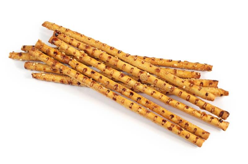 Ραβδιά με τους σπόρους σουσαμιού στοκ εικόνα με δικαίωμα ελεύθερης χρήσης