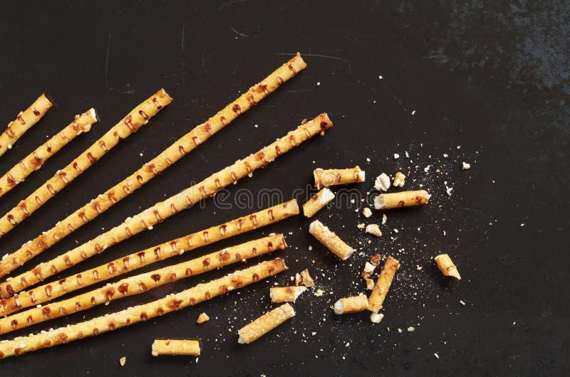 Ραβδιά με τους σπόρους σουσαμιού στοκ φωτογραφία με δικαίωμα ελεύθερης χρήσης