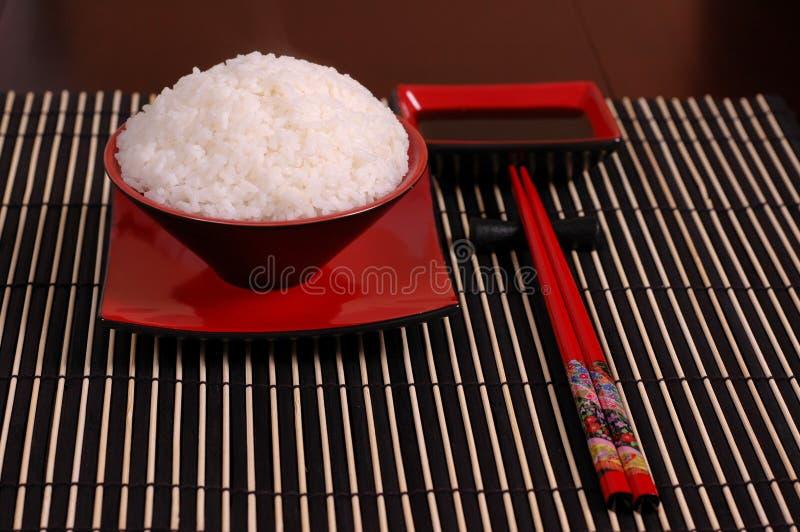 ραβδιά ρυζιού μπριζολών κύπ στοκ φωτογραφία
