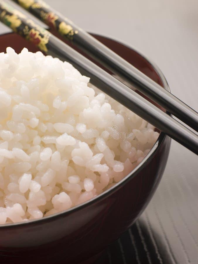 ραβδιά ρυζιού koshihikari μπριζολών κύπελλων στοκ φωτογραφίες