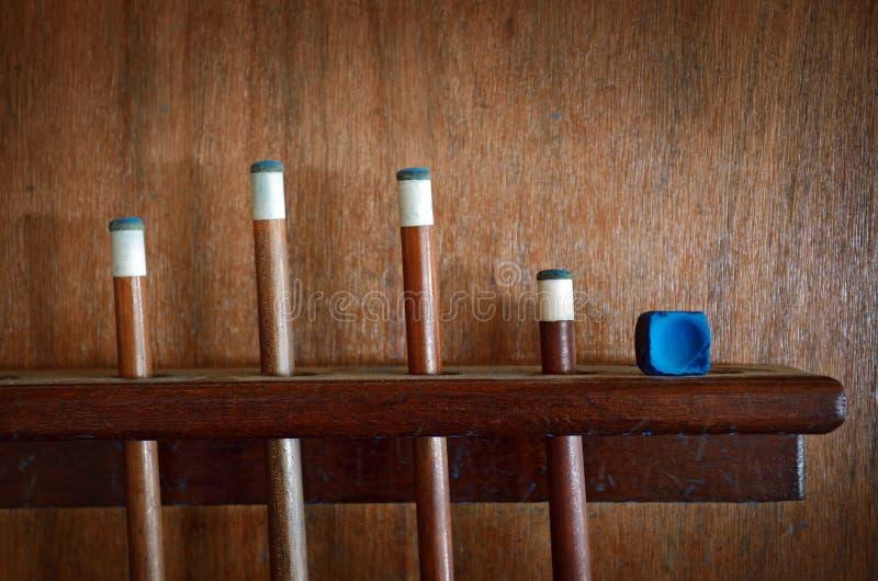 ραβδιά σνούκερ στοκ εικόνα με δικαίωμα ελεύθερης χρήσης