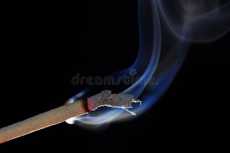 Ραβδί κινέζικων ειδώλων με τον καπνό στοκ εικόνες με δικαίωμα ελεύθερης χρήσης