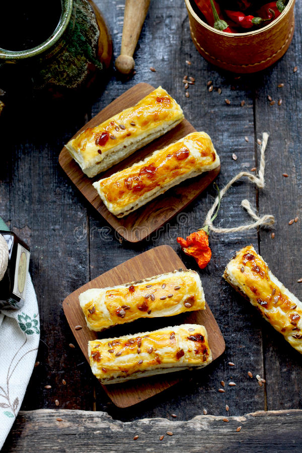 Ραβδιά με το τυρί στοκ φωτογραφία