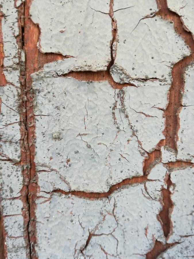 Ραγίζοντας και ξεφλουδίζοντας χρώμα από έναν ξύλινο τοίχο στοκ εικόνα με δικαίωμα ελεύθερης χρήσης