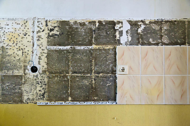Ραγισμένα κεραμίδια στοκ φωτογραφία με δικαίωμα ελεύθερης χρήσης