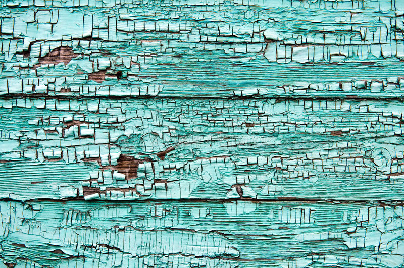 ραγισμένη χρωματισμένη σανίδα ξύλινη στοκ εικόνες με δικαίωμα ελεύθερης χρήσης