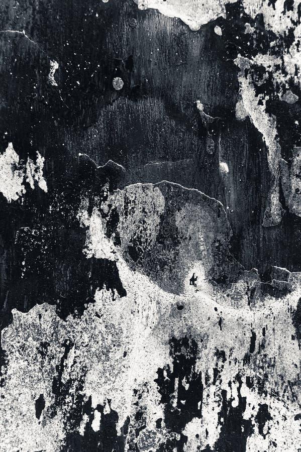 Ραγισμένο και υπόβαθρο τοίχων αποφλοίωσης παλαιό Κλασικό grunge στοκ φωτογραφία