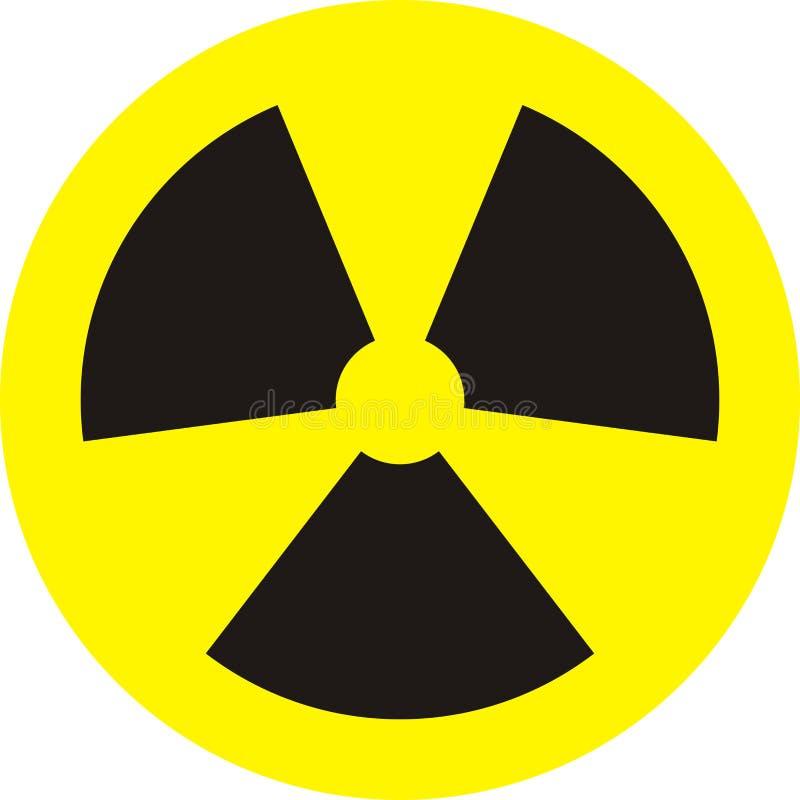 ραδιενέργεια διανυσματική απεικόνιση