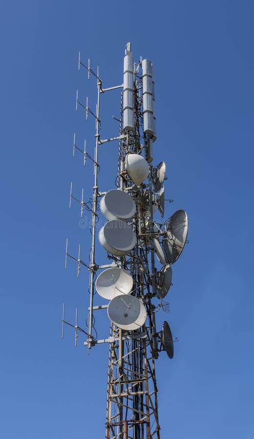 Ραδιο ασύρματες κεραίες στοκ φωτογραφίες με δικαίωμα ελεύθερης χρήσης