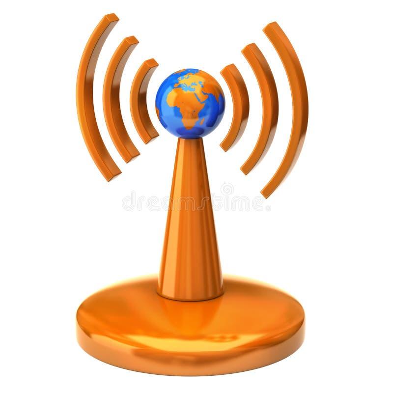 ραδιο ραδιόφωνο κυμάτων πύ στοκ φωτογραφία με δικαίωμα ελεύθερης χρήσης