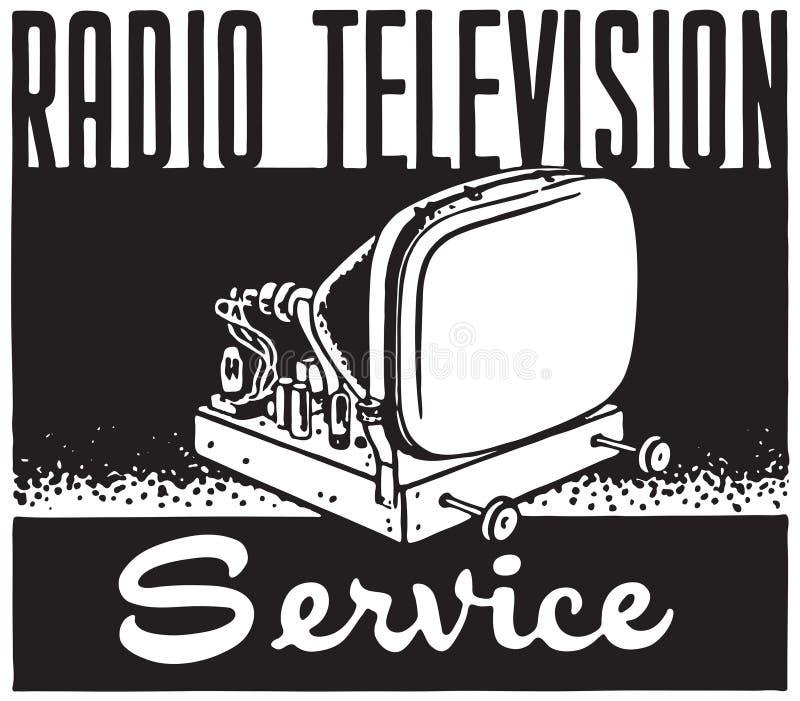 Ραδιο τηλεοπτικές υπηρεσίες ελεύθερη απεικόνιση δικαιώματος