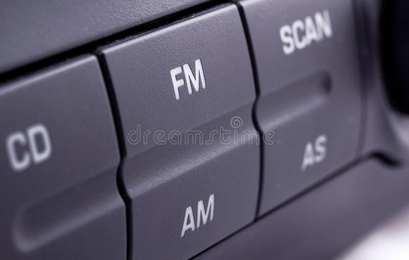 ραδιόφωνο αυτοκινήτου στοκ εικόνες