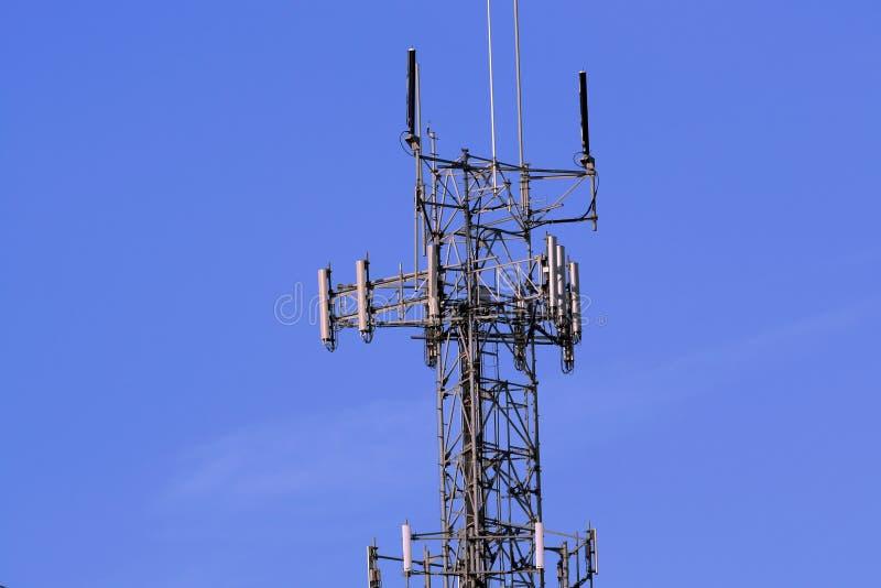 ραδιόφωνο πύργων ηλεκτρο& στοκ εικόνες