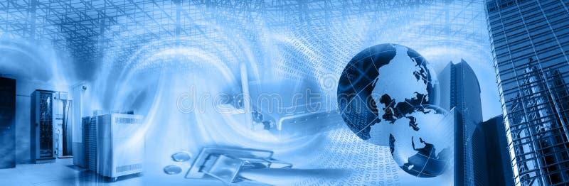 ραδιόφωνο τεχνολογίας montage διανυσματική απεικόνιση