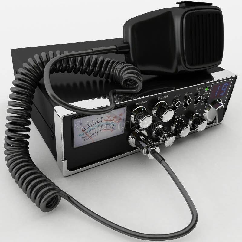 ραδιόφωνο Cb διανυσματική απεικόνιση