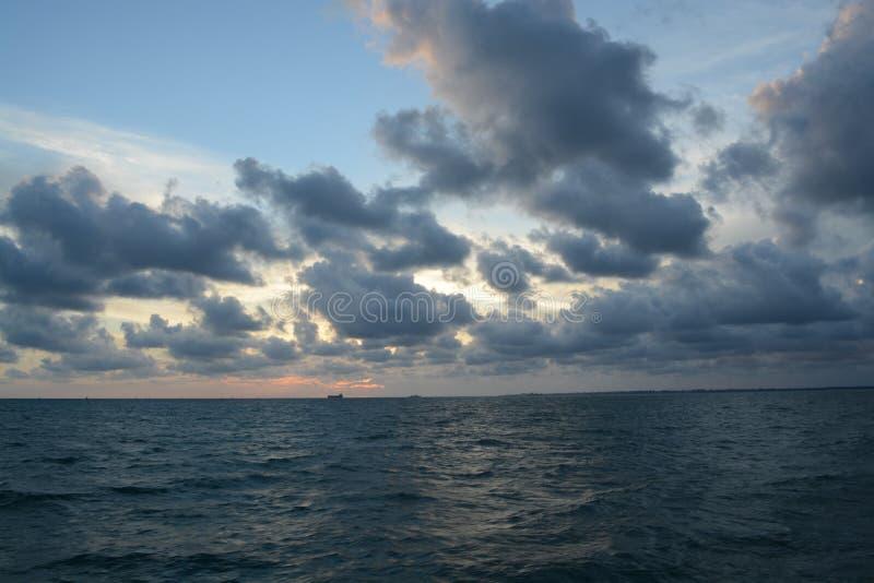 δραματική θάλασσα στοκ φωτογραφίες