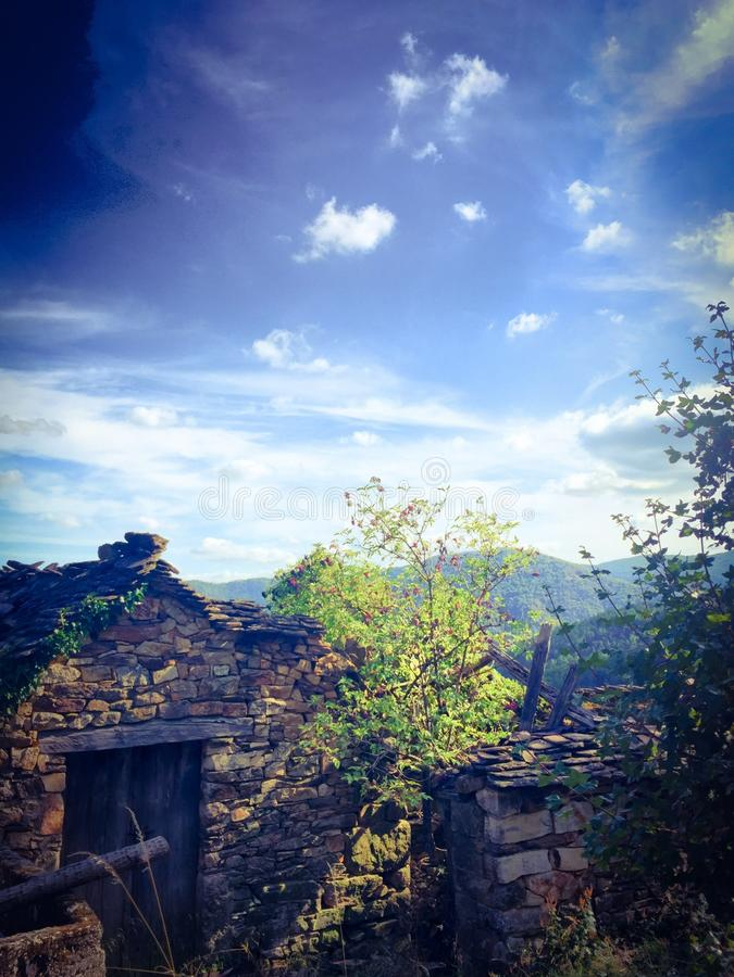 δραματικό βουνό τοπίων στοκ φωτογραφία με δικαίωμα ελεύθερης χρήσης