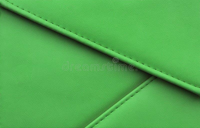 Ραμμένες άκρες λουρίδων μίμησης δέρματος σύστασης στις διαφορετικές κατευθύνσεις στοκ φωτογραφία με δικαίωμα ελεύθερης χρήσης