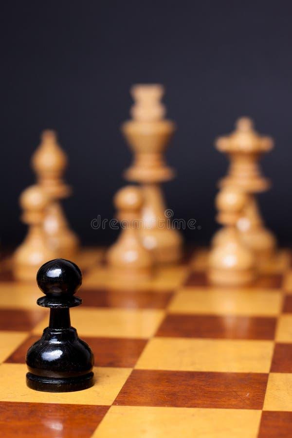 Ρατσισμός σκακιού στοκ φωτογραφία με δικαίωμα ελεύθερης χρήσης