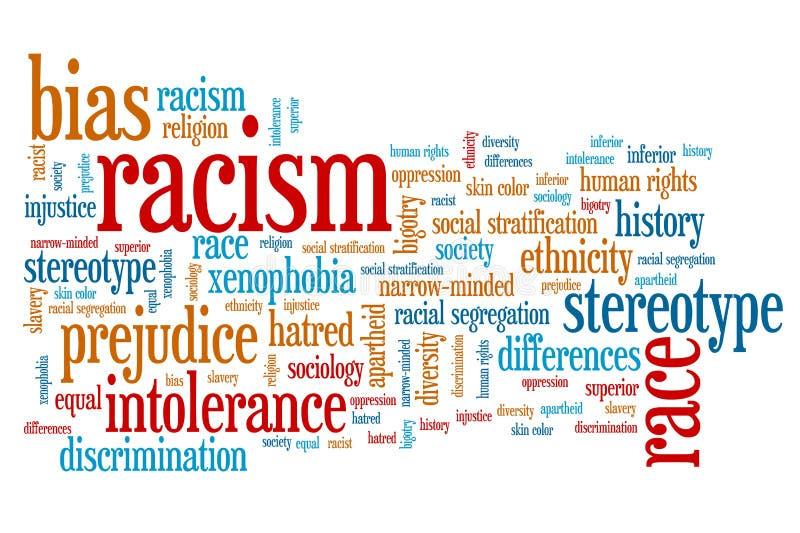 ρατσισμός απεικόνιση αποθεμάτων