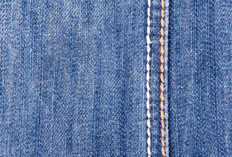 ραφή τζιν παντελόνι ανασκόπ&et στοκ φωτογραφία με δικαίωμα ελεύθερης χρήσης