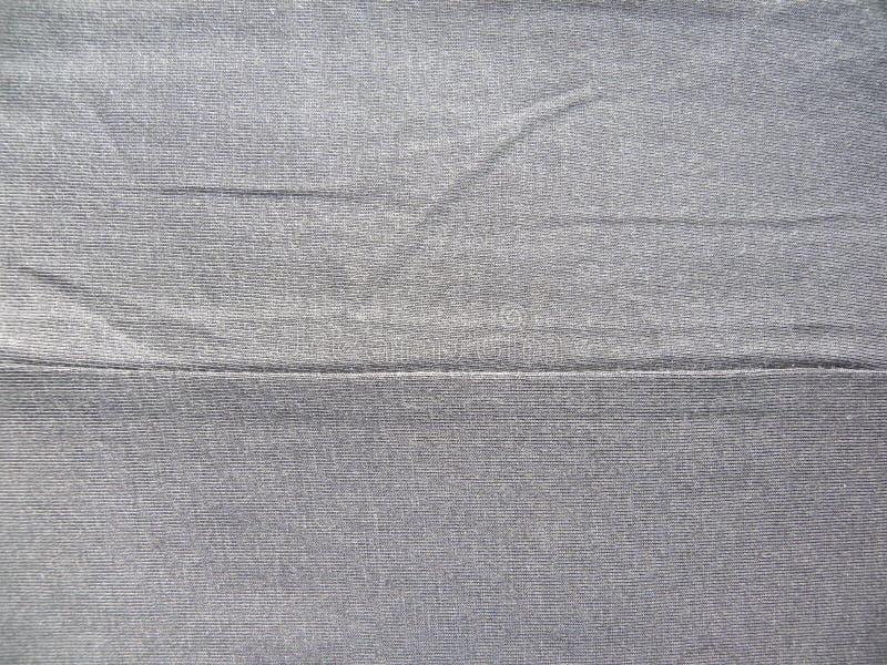 Ραφή του γκρίζου υφάσματος βαμβακιού στοκ φωτογραφίες με δικαίωμα ελεύθερης χρήσης