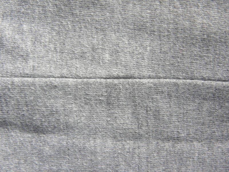 Ραφή του σκούρο γκρι υφάσματος βαμβακιού στοκ εικόνες