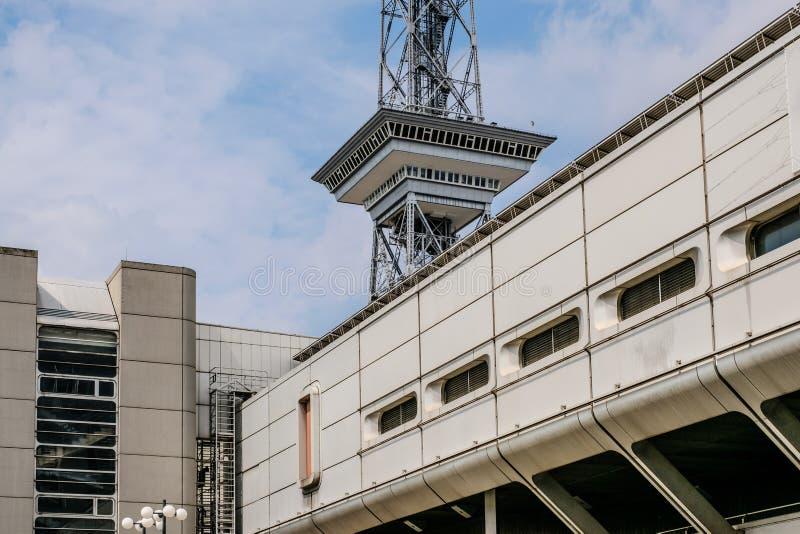 Ραδιο πύργος Funkturm και το διεθνές κεντρικό ολοκληρωμένο κύκλωμα συνεδρίων στοκ εικόνα