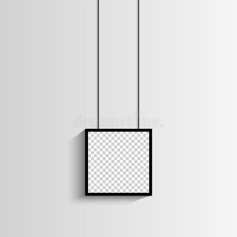 Κενή ένωση συνόλου πλαισίων φωτογραφιών σε έναν συνδετήρα Αναδρομικό εκλεκτής ποιότητας ύφος Μαύρη κενή θέση για το κείμενο ή τη  ελεύθερη απεικόνιση δικαιώματος