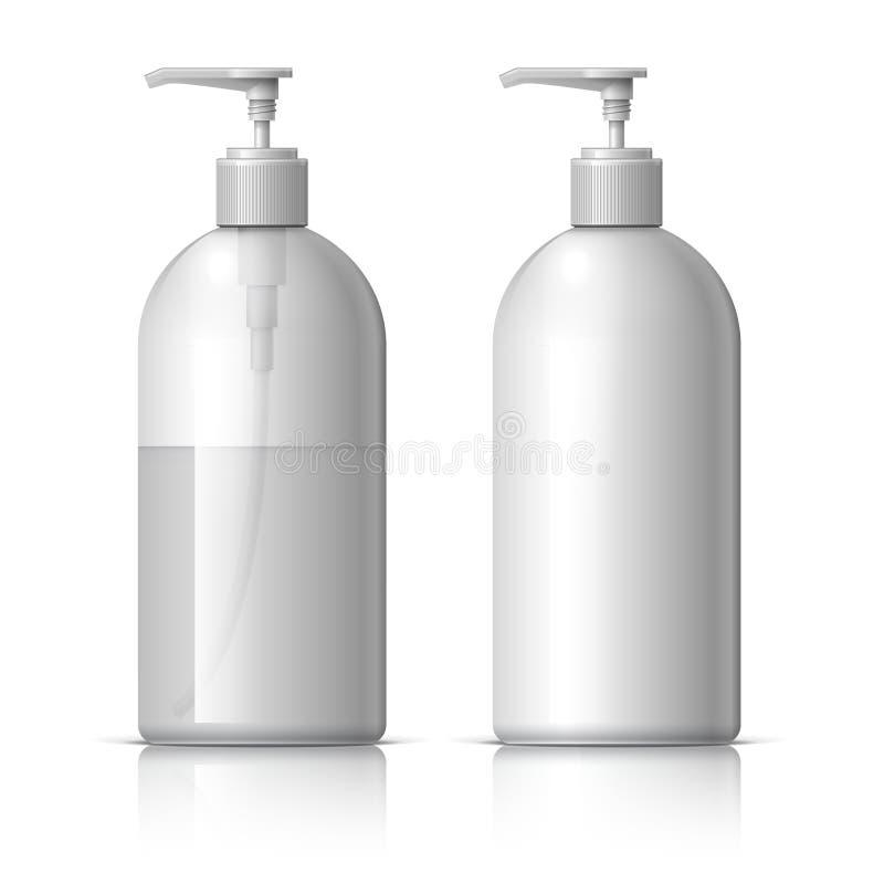 Ρεαλιστικός διανομέας για το σαπούνι απεικόνιση αποθεμάτων