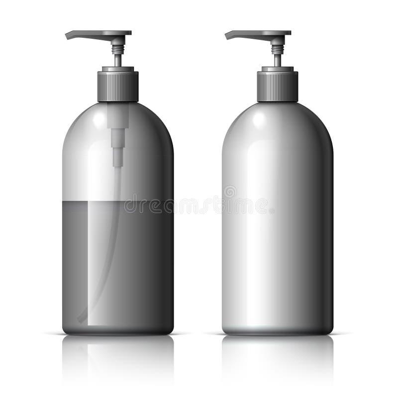 Ρεαλιστικός διανομέας για το σαπούνι ελεύθερη απεικόνιση δικαιώματος