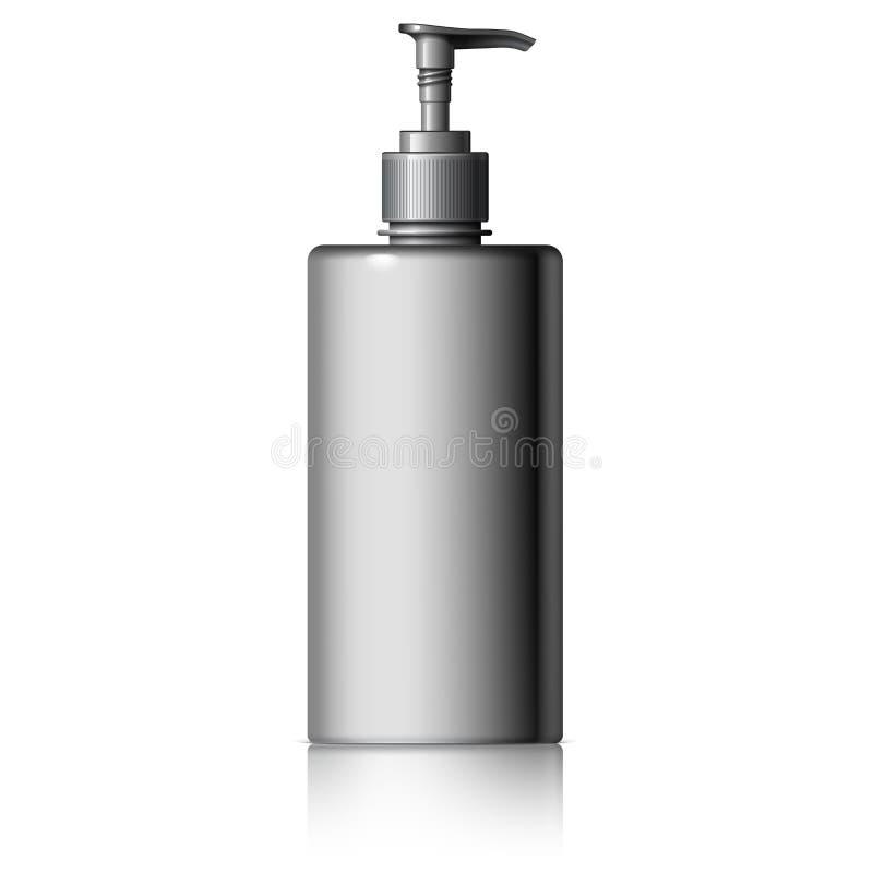 Ρεαλιστικός διανομέας για το σαπούνι διανυσματική απεικόνιση