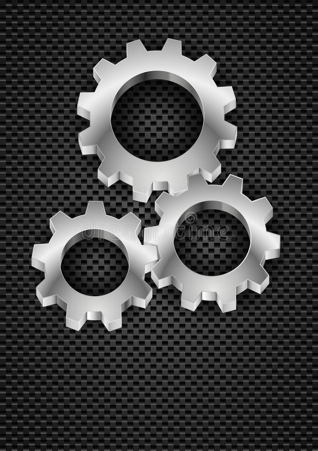 Gearwheel απεικόνιση αποθεμάτων