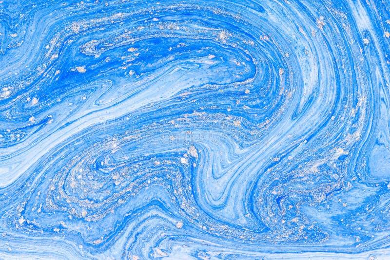 Υγρό ακρυλικό Ρευστός λεκές χρώματος τέχνης στοκ φωτογραφίες με δικαίωμα ελεύθερης χρήσης