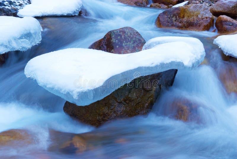 ρεύμα κρυόλιθων στοκ φωτογραφίες