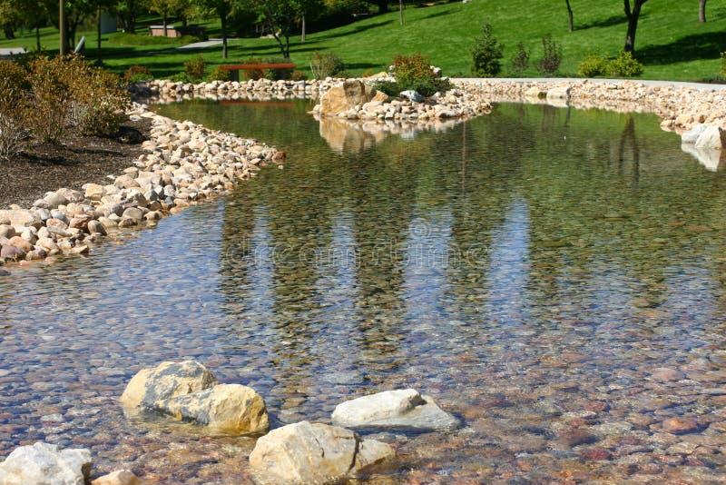 ρεύμα πάρκων στοκ εικόνα με δικαίωμα ελεύθερης χρήσης