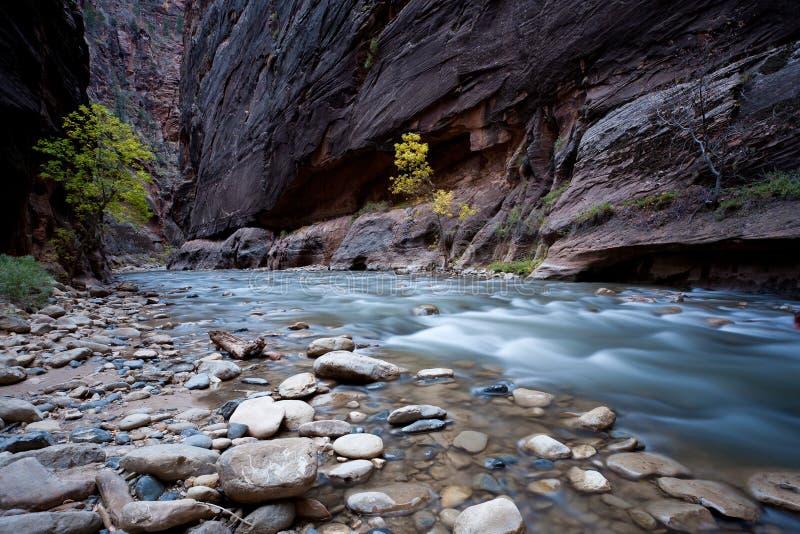 ρεύμα ποταμών φαραγγιών στοκ εικόνες με δικαίωμα ελεύθερης χρήσης