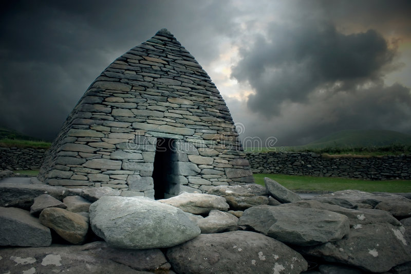 ρητορική της Ιρλανδίας gallarus στοκ φωτογραφία