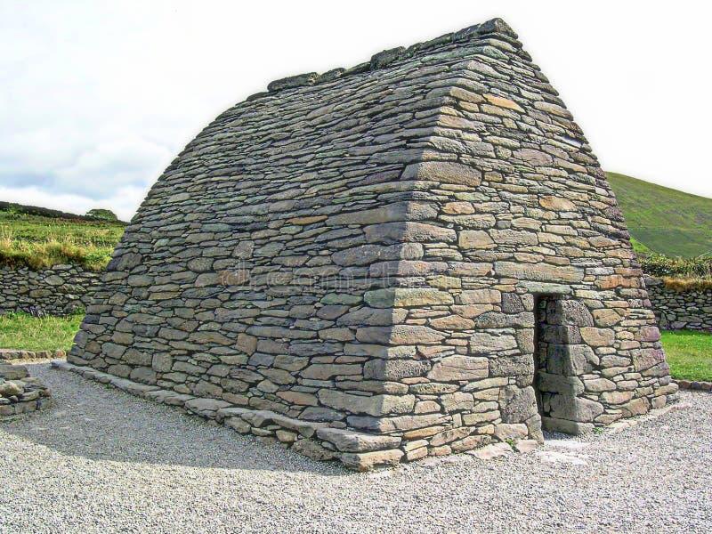 Ρητορική Gallarus, Dingle χερσόνησος, ιρλανδική αγελάδα κομητειών, Ιρλανδία στοκ εικόνες