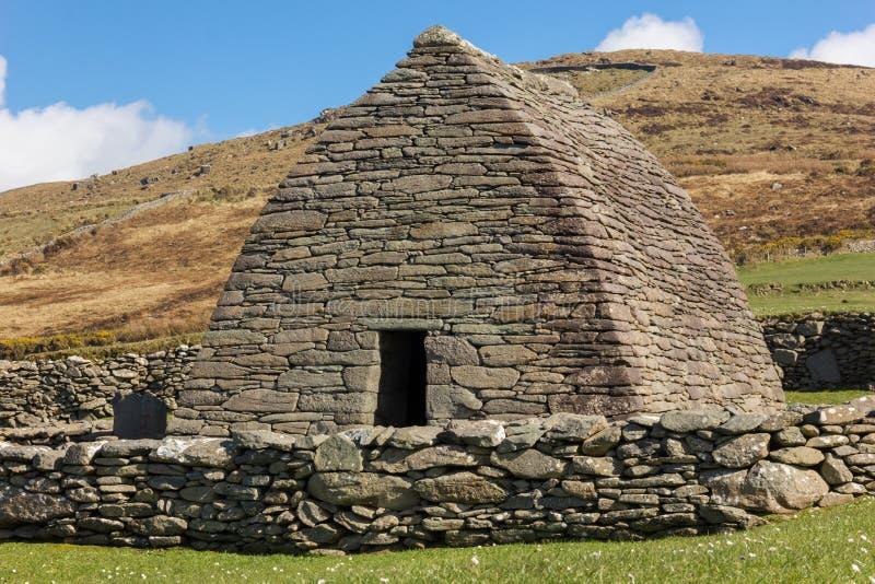 Ρητορική Gallarus kerry Ιρλανδία στοκ φωτογραφία