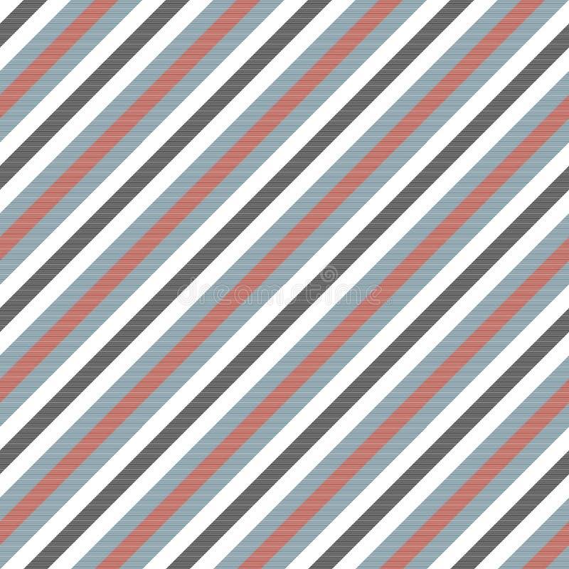 Ριγωτή σύσταση υφάσματος χρώματος ατόμων διανυσματική απεικόνιση