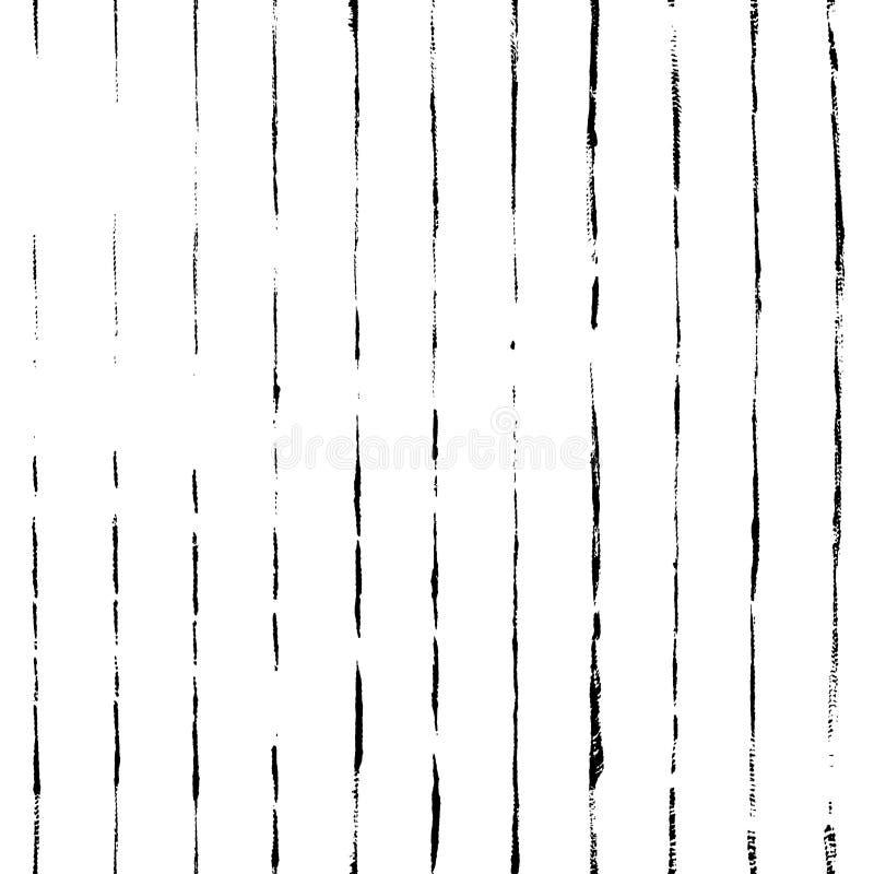 Ριγωτό συρμένο χέρι διανυσματικό άνευ ραφής σχέδιο Διανυσματικό υπόβαθρο λωρίδων grunge ελεύθερη απεικόνιση δικαιώματος