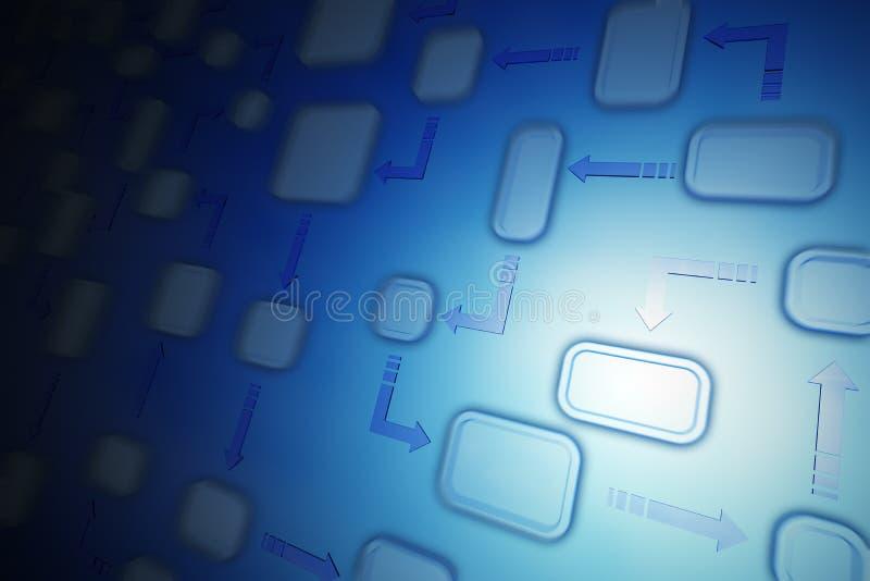 ροή διαγραμμάτων ανασκόπησ απεικόνιση αποθεμάτων