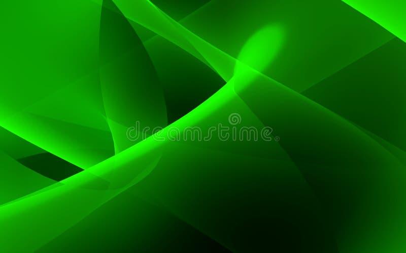 ροή πράσινη διανυσματική απεικόνιση